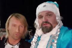 Вірастюк у костюмі Снігуроньки шокував відео з українським 'королем поп-музики'