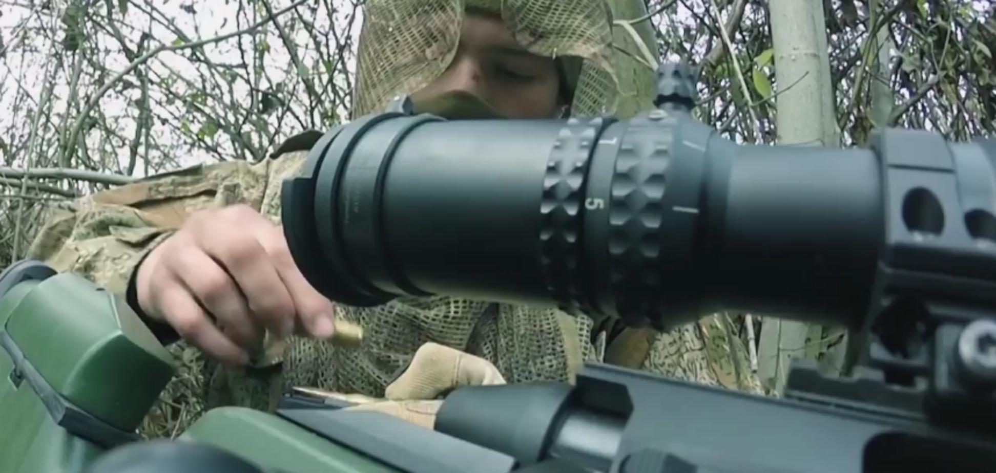 'Я знайду тебе, ворог': український снайпер вразив посланням до терористів 'Л/ДНР'