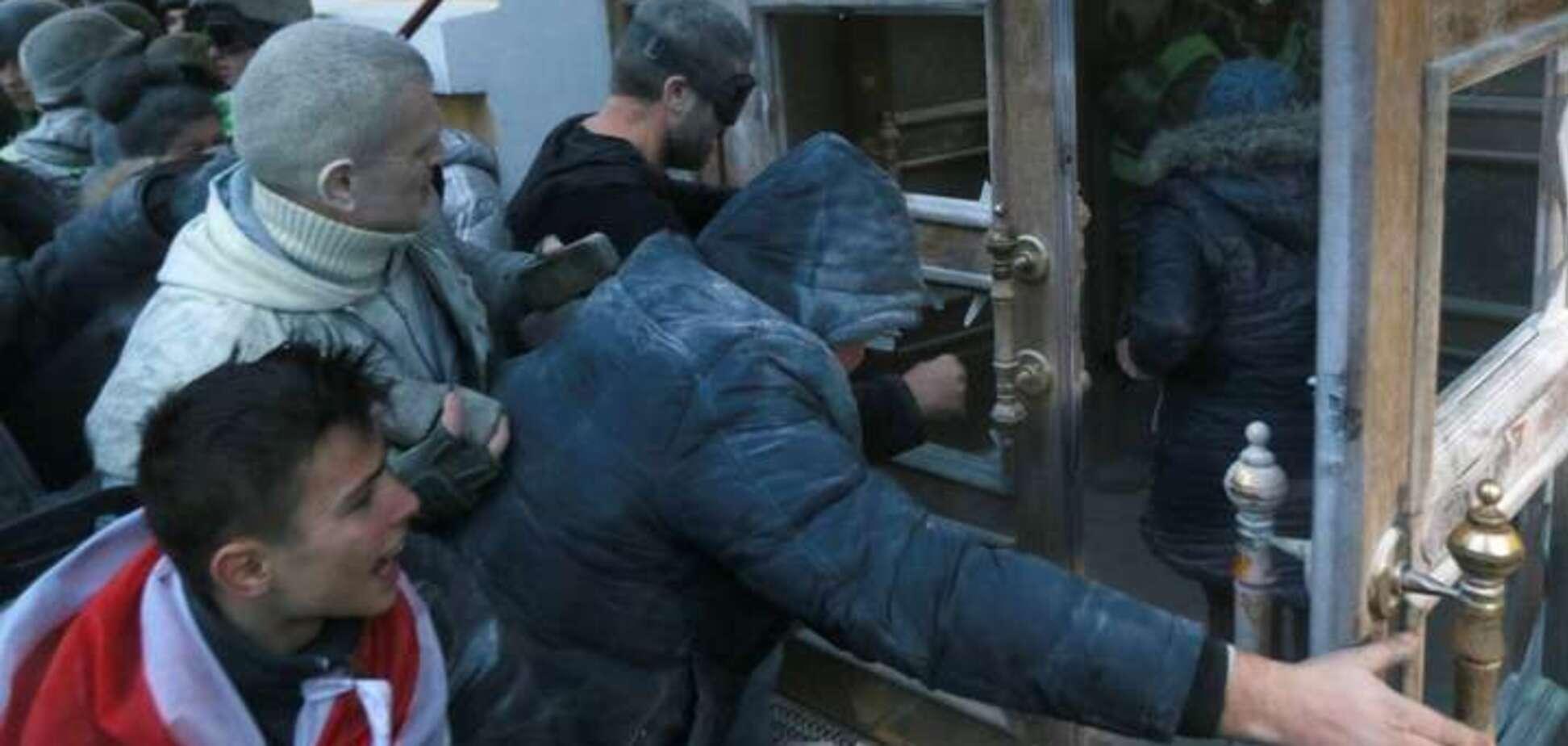 'Міхомайдан': адепти Саакашвілі перейшли червону лінію