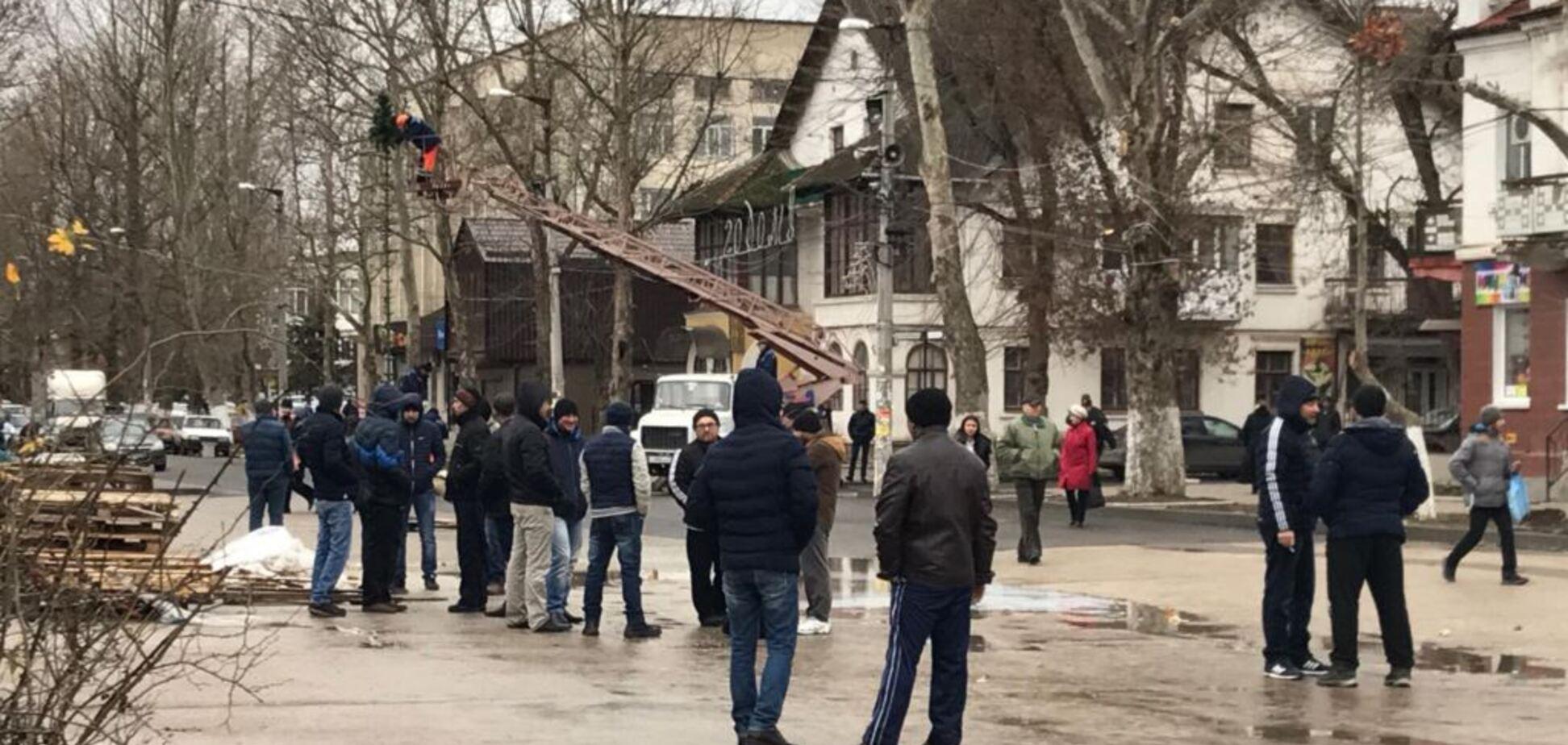 В Крыму сегодня проходят судилища