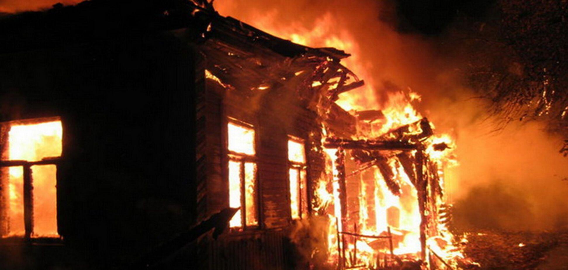 Пожар на Черкасщине