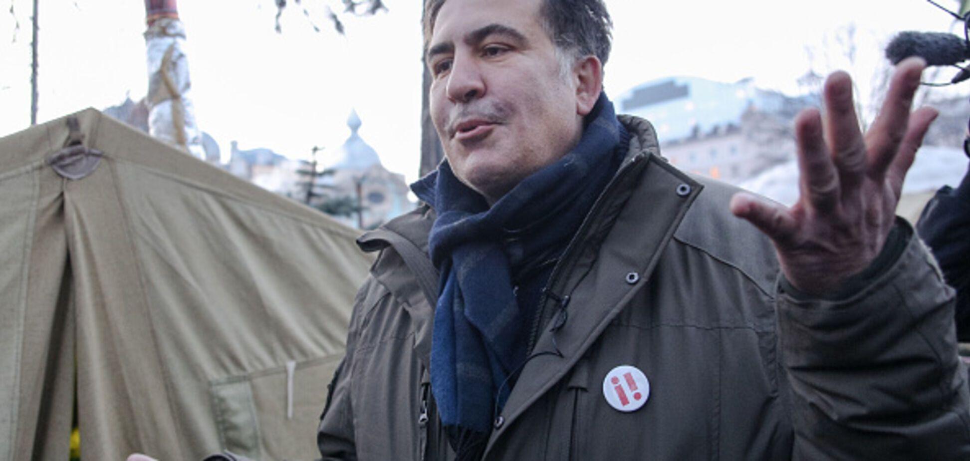 Поговорив і втік: Саакашвілі відмовився давати свідчення ГПУ