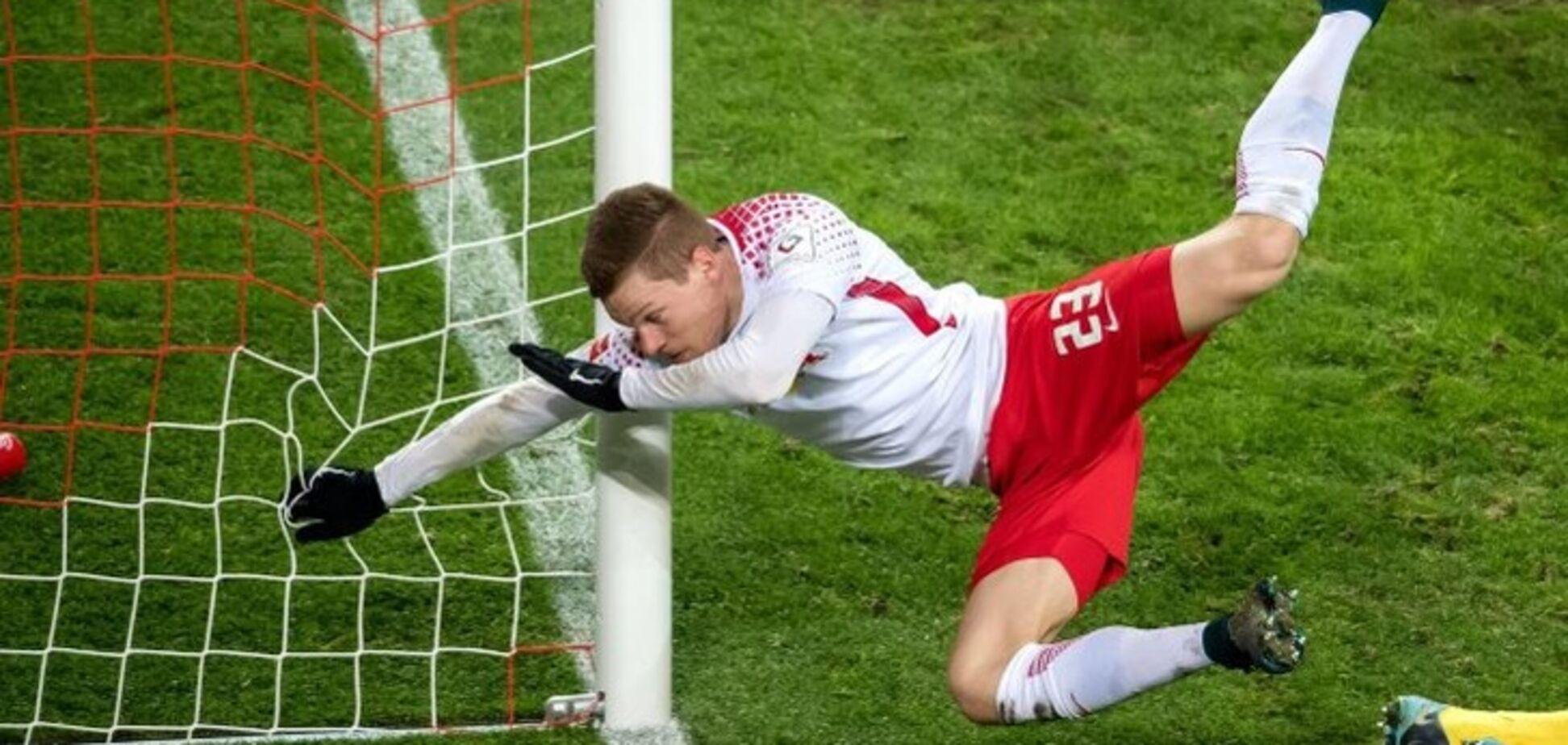 Футболіст збірної Німеччини отримав страшну травму під час голу: опубліковано відео інциденту