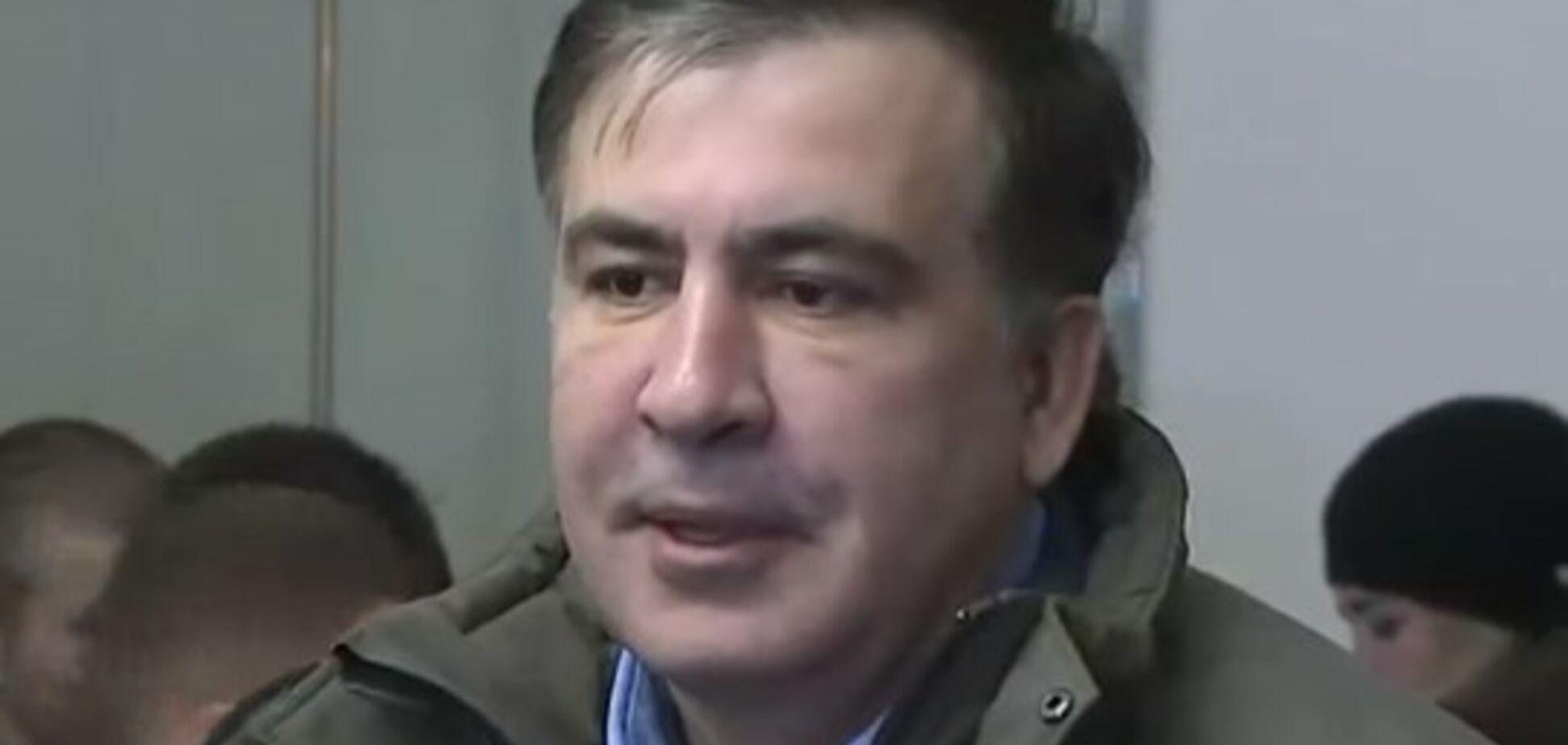 'Не поважаю прокурорів': Саакашвілі 'сходив в гості' до ГПУ