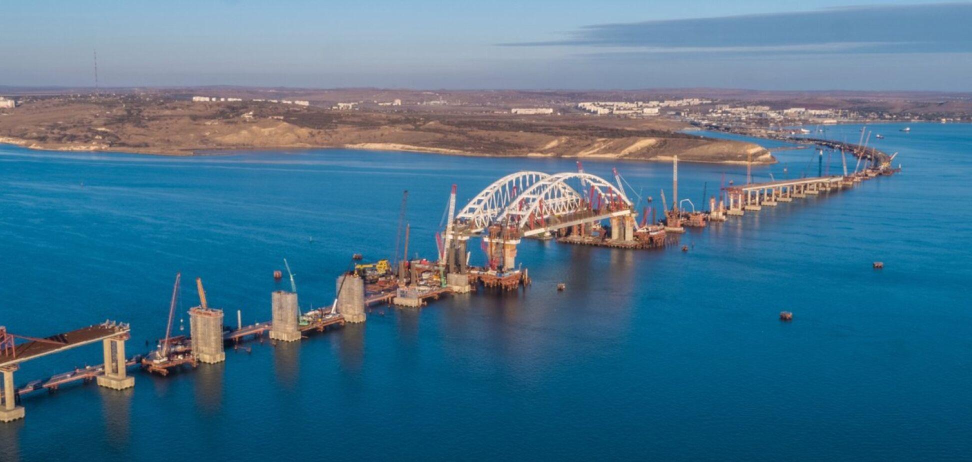 Керченский мост взлетит на воздух: российские оккупанты закатили истерику