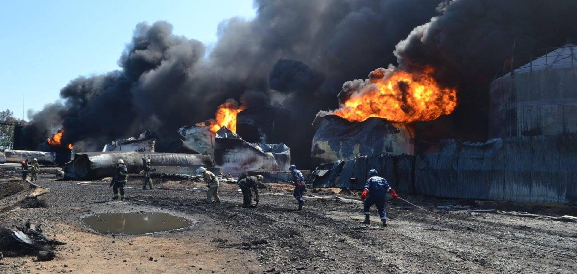 Пожар вблизи военного аэродрома в Василькове: появилась новая информация