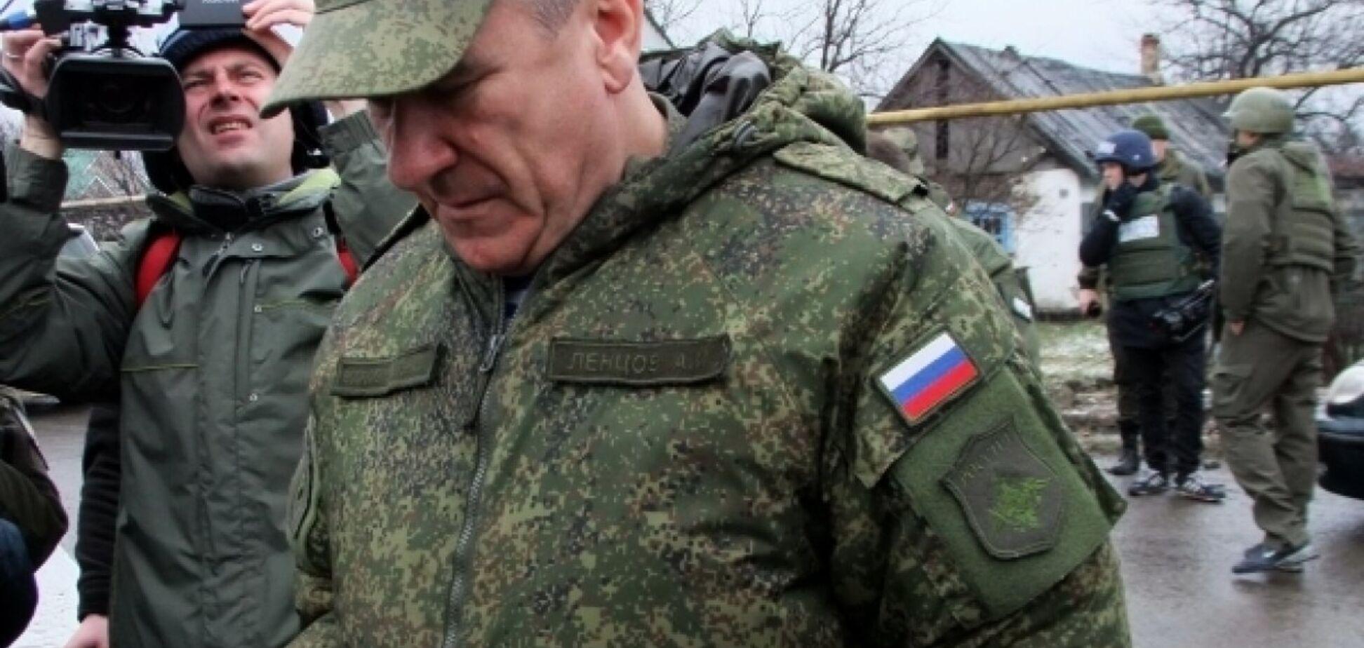 Російські офіцери передчасно покинули Донбас
