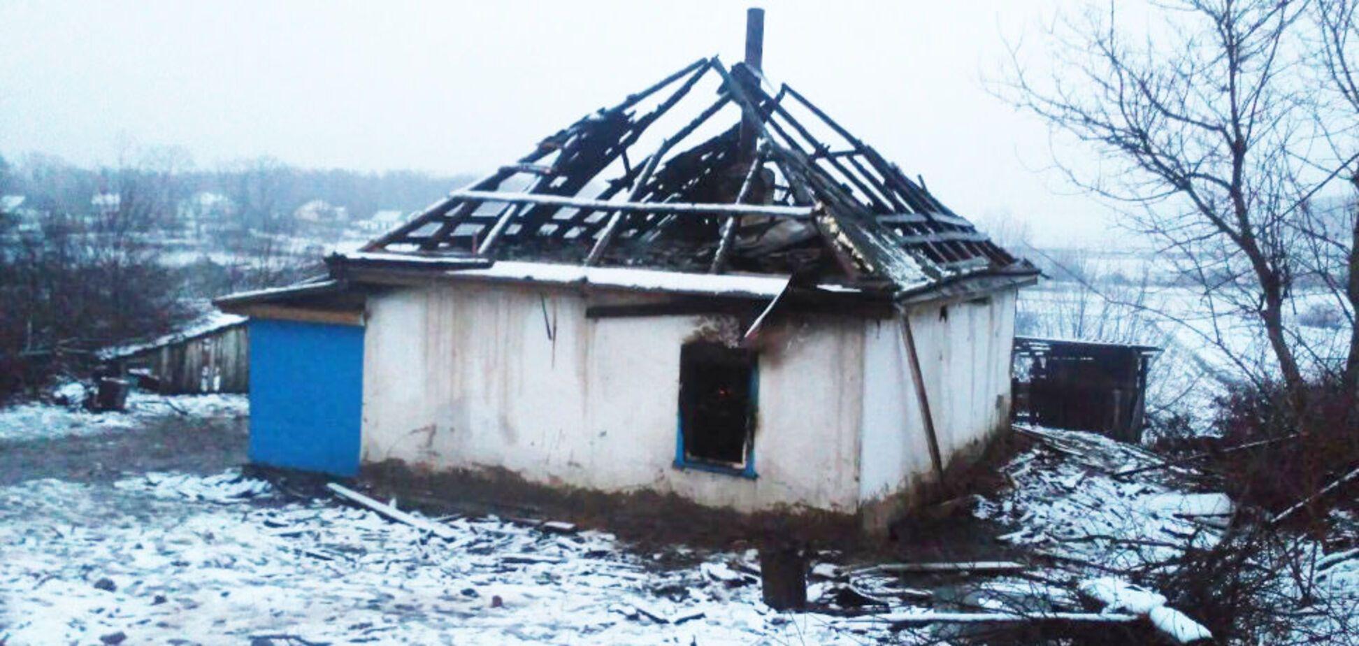 На пожаре погибли дети