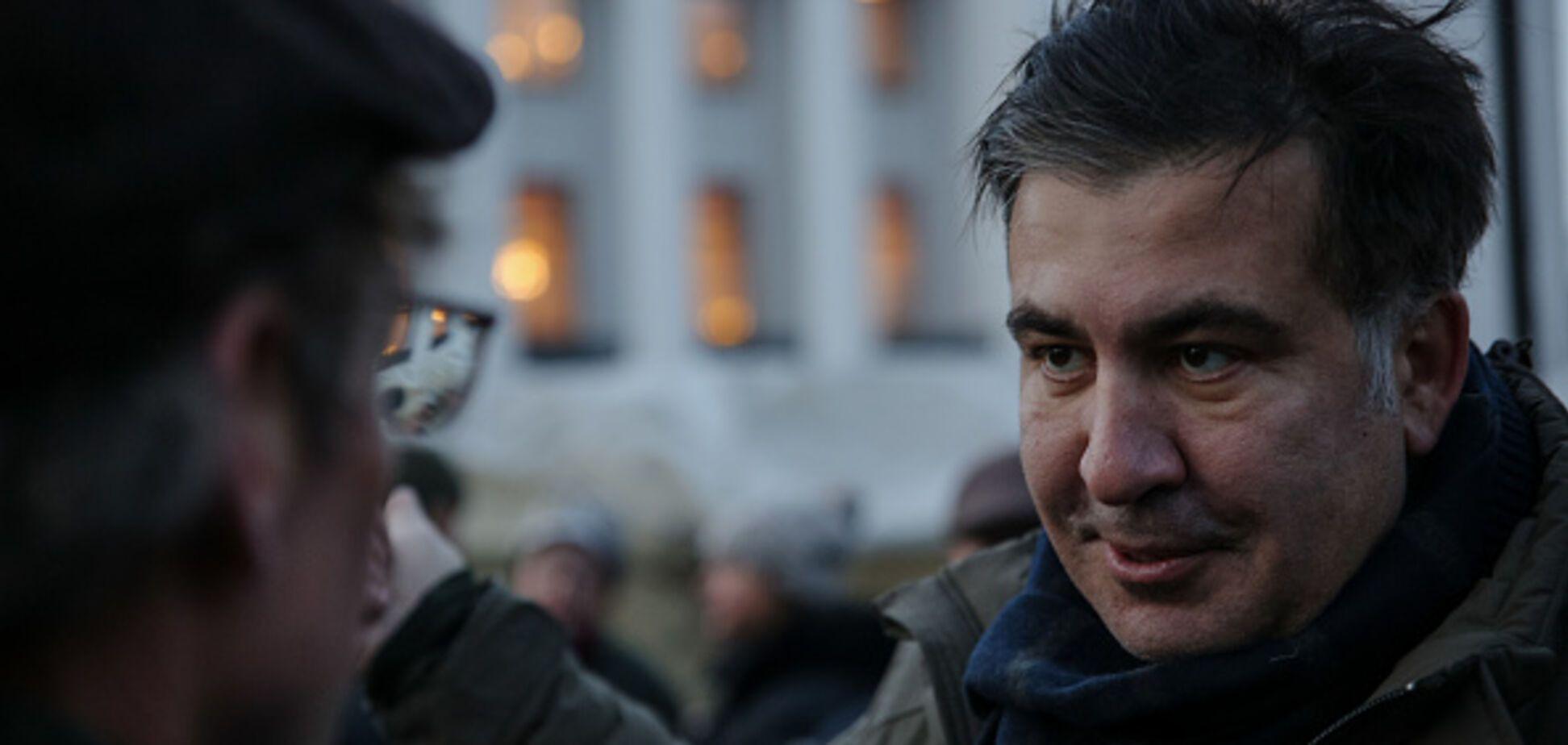 'Неблагодарное дело': Саакашвили принял неожиданное решение по протестам