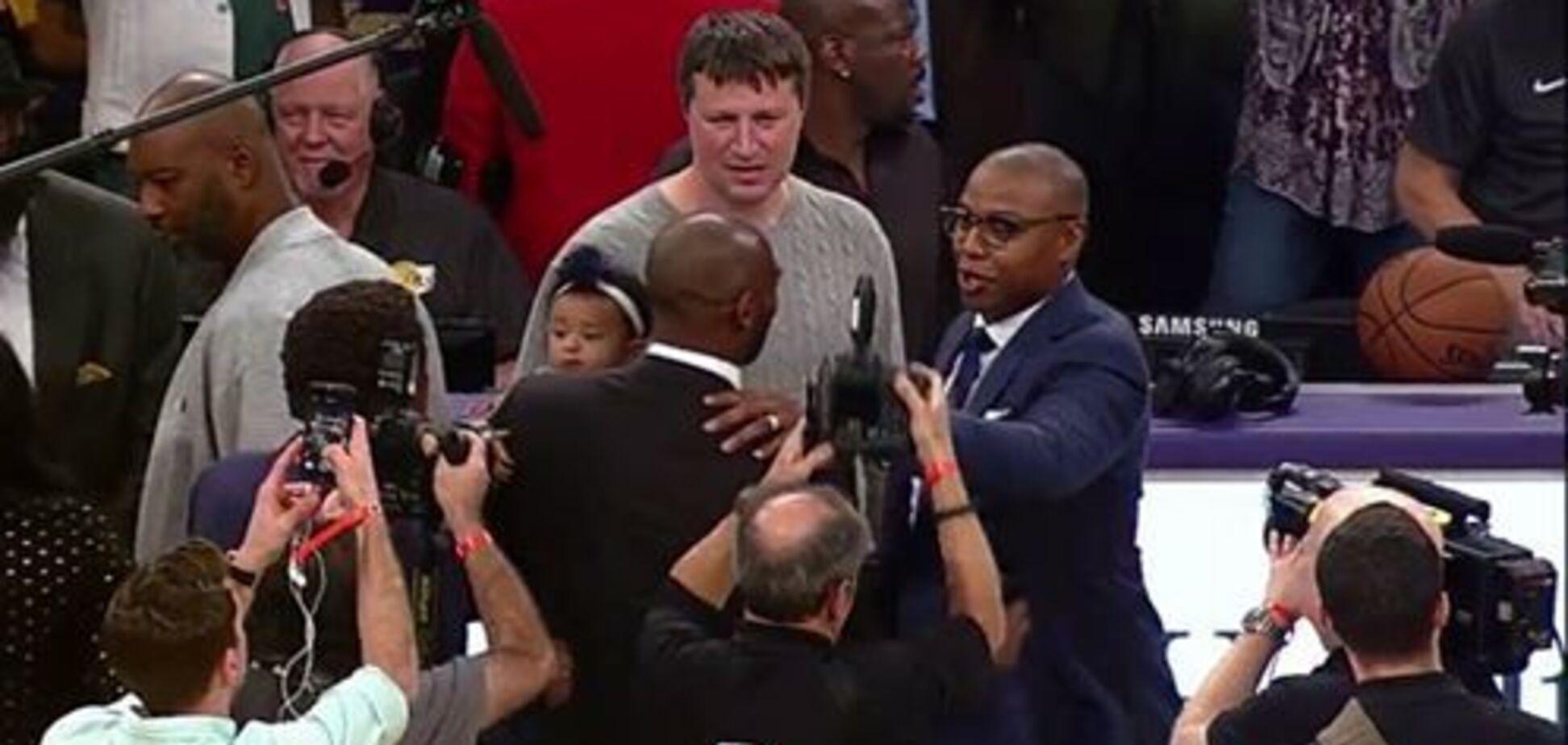 За участю українця: у США влаштували шоу на честь легенди НБА