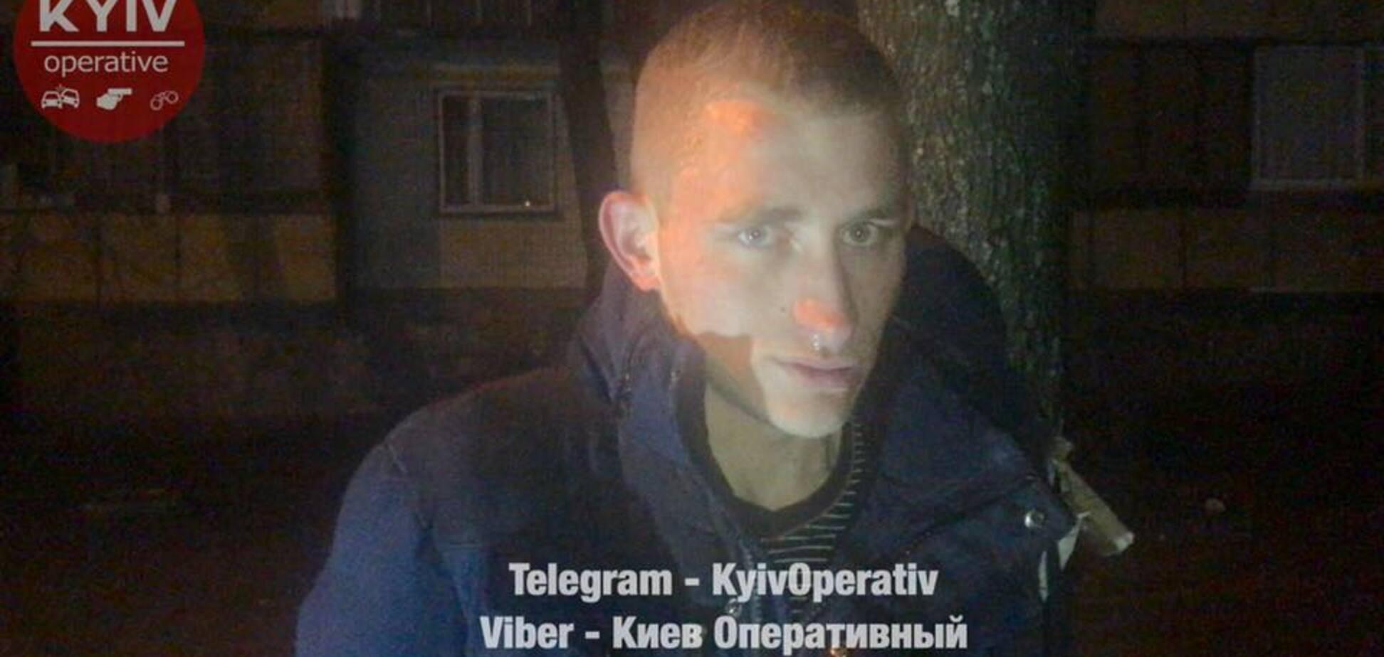 Ограбление, Киев