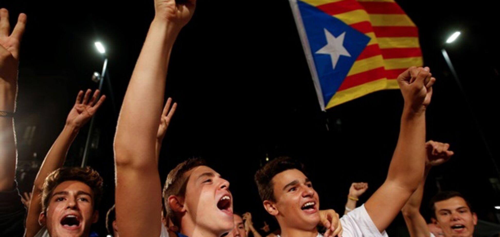 Сепаратисты в Каталонии