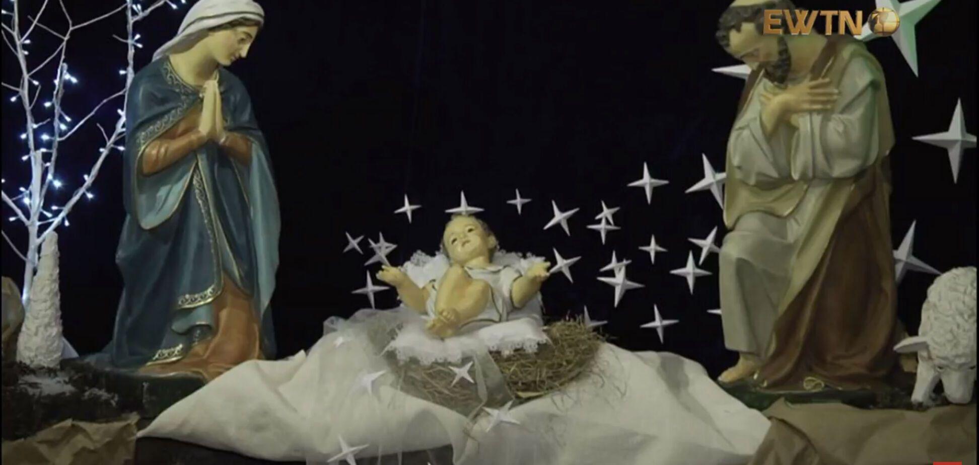 'Христос родился!' Киевские римо-католики встретили Рождество