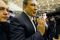 В России толпа Саакашвили устроила забег на зло Путину: яркое фото
