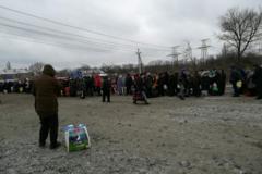 Похмурий Святвечір на КПВВ Донбасу викликав люту суперечку в мережі