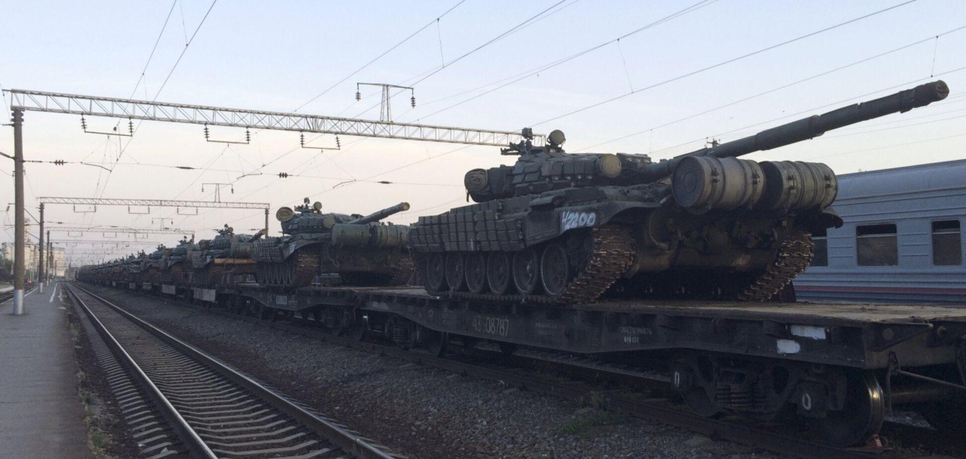 Россия стянула танки к границе с Украиной