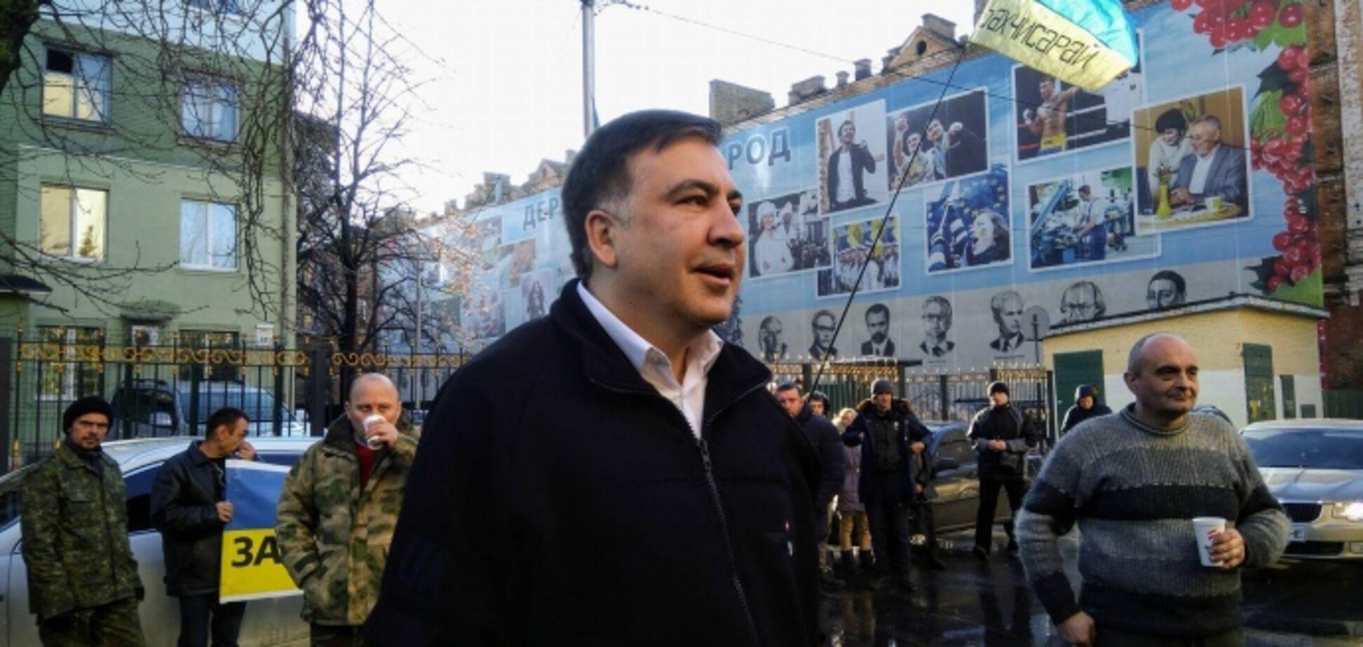 'Меня похитили': Саакашвили пригрозил СБУ Европейским судом