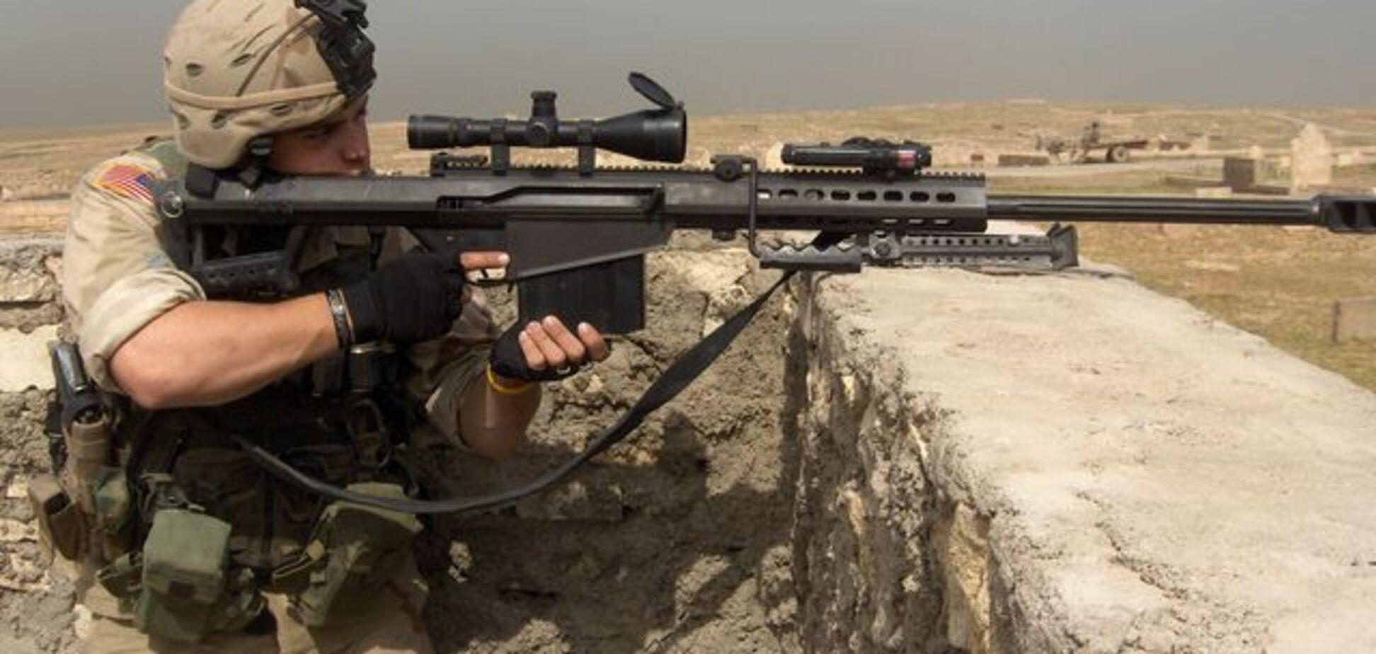 Сотни винтовок Barrett для ВСУ: генерал пояснил, как они изменят погоду в АТО