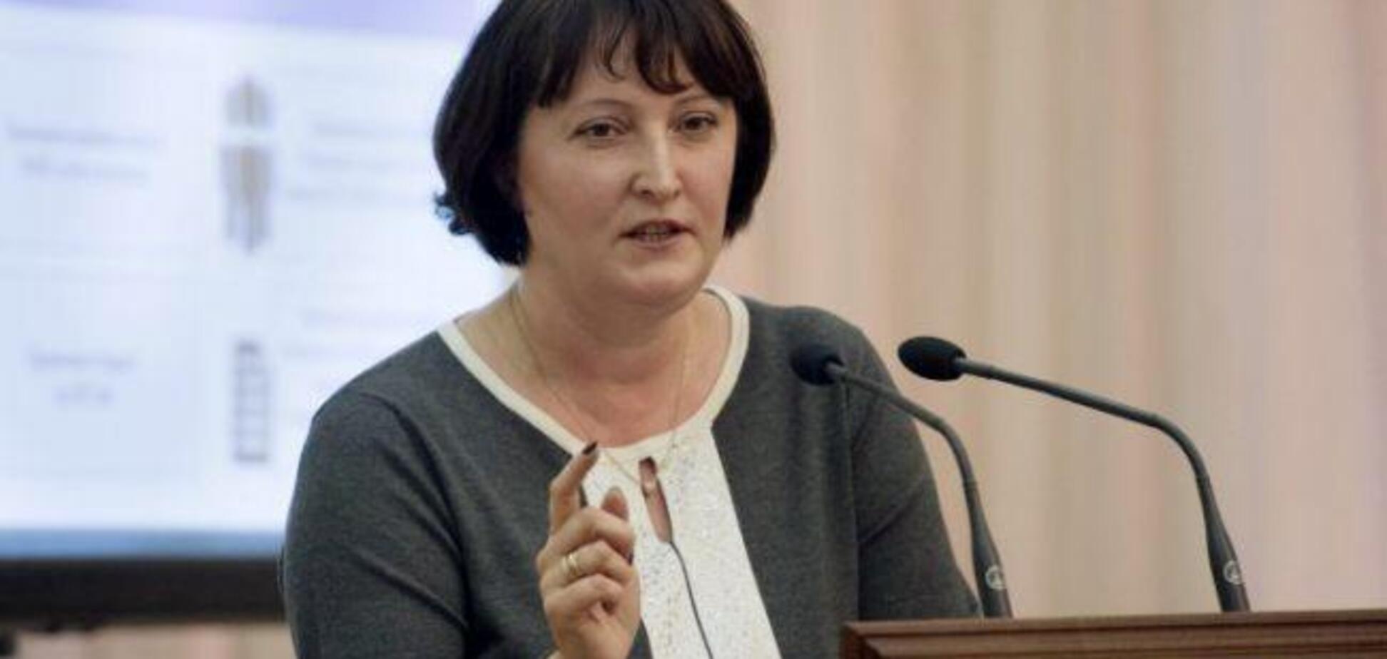 Скандальная глава НАПК за год заработала более 1 млн грн