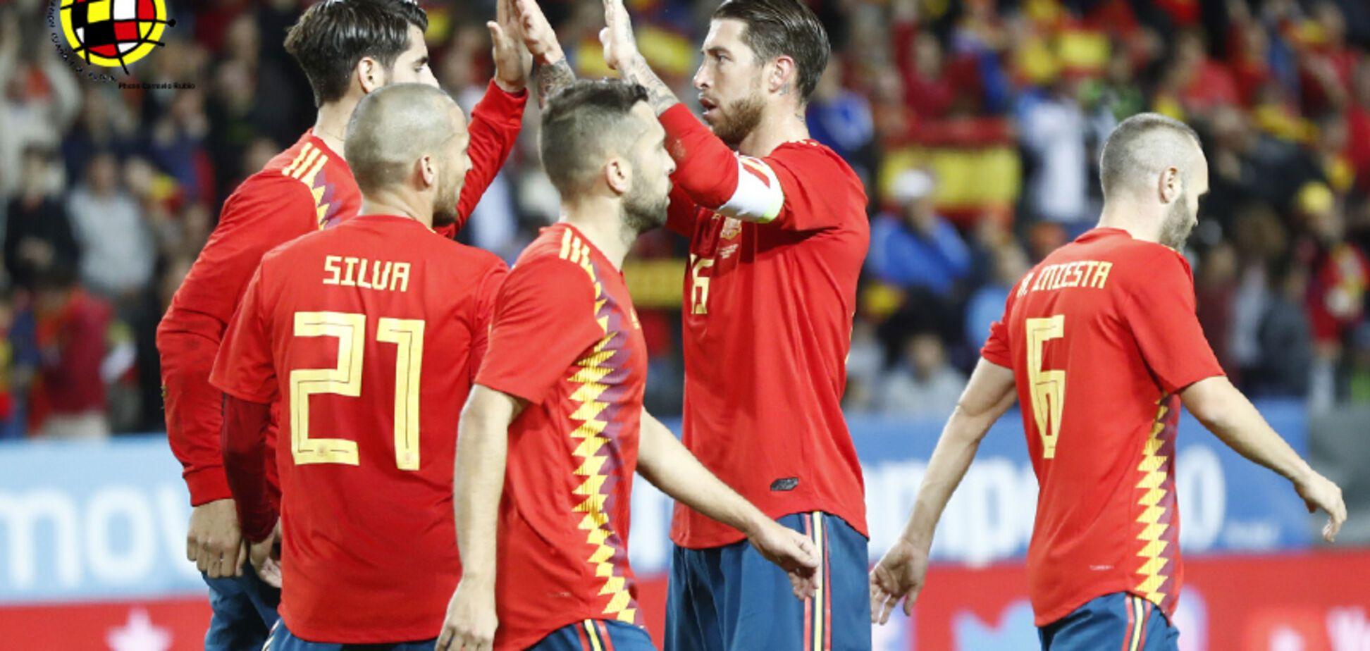 Испания – Марокко - 2:2: онлайн-трансляция матча ЧМ-2018
