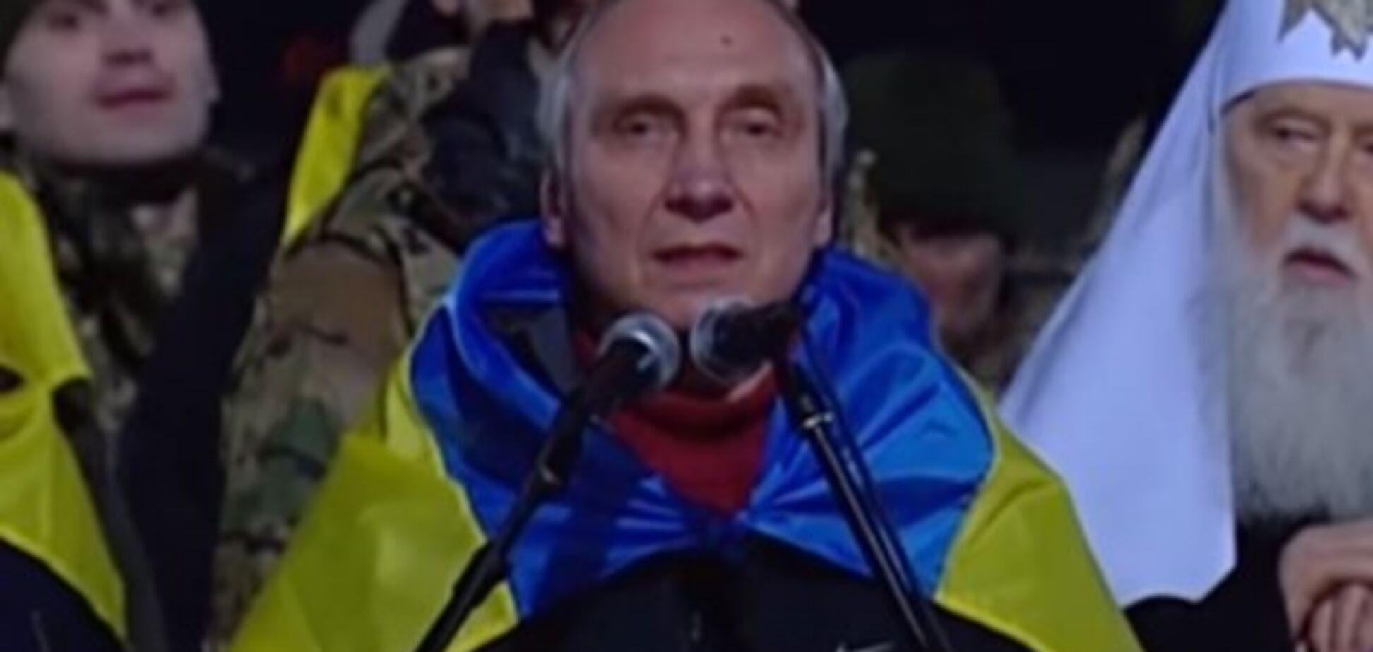 'Я люблю тебя, народ Украины!' Освобожденный из плена 'ДНР' ученый выступил с мощной речью