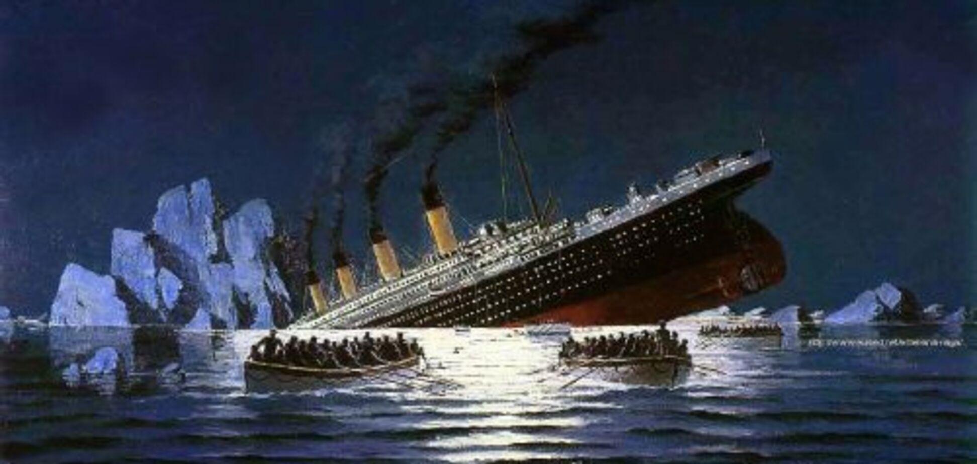 'Титаник' идет ко дну. Спасайтесь, кто может