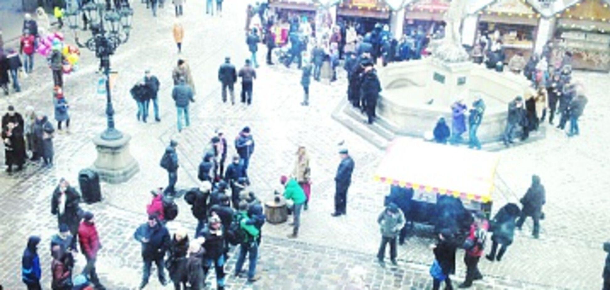 Кража века: во Львове женщину поймали на 'новогоднем' воровстве