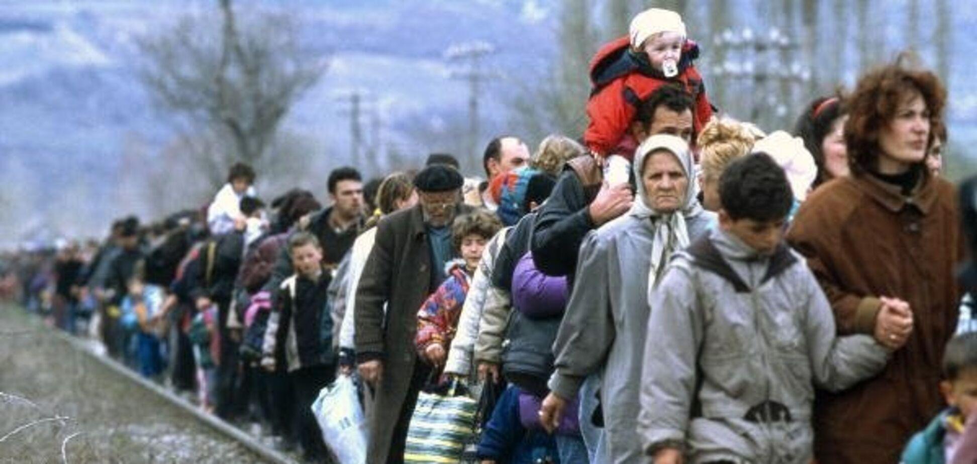 Переселенцы с Донбасса