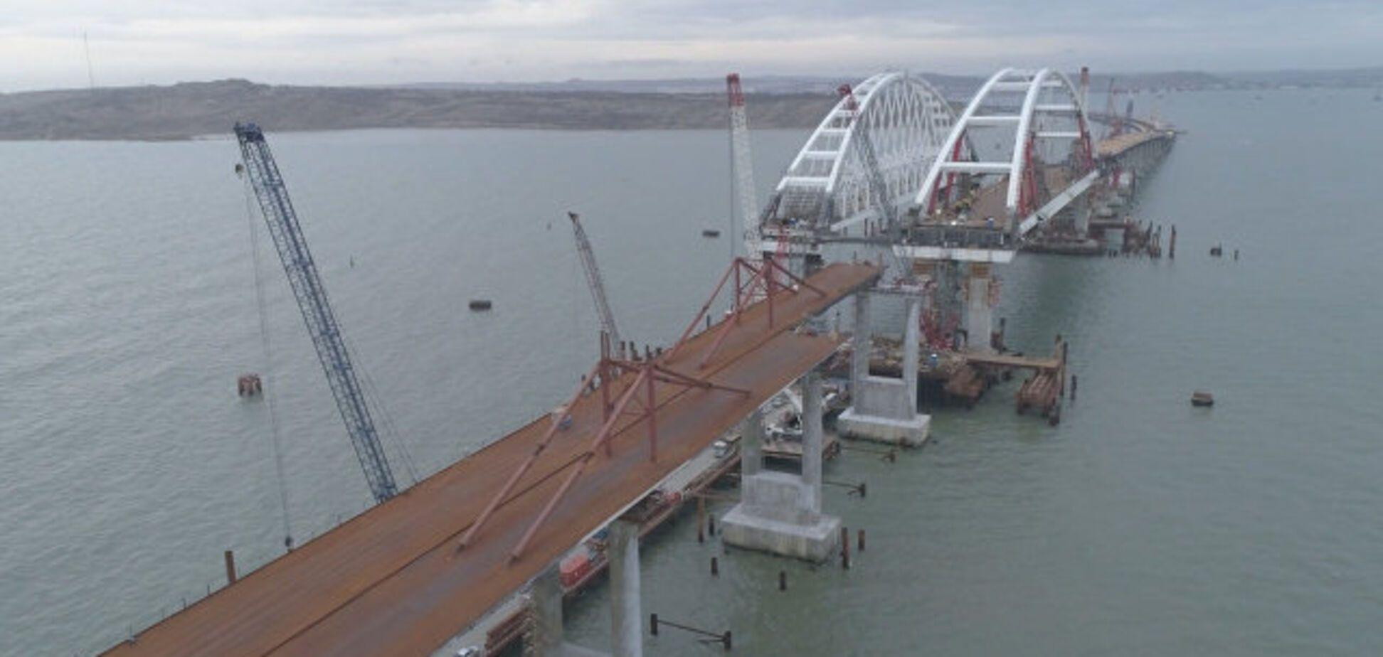 Опасный участок: Крымскому мосту предрекли трагическое будущее
