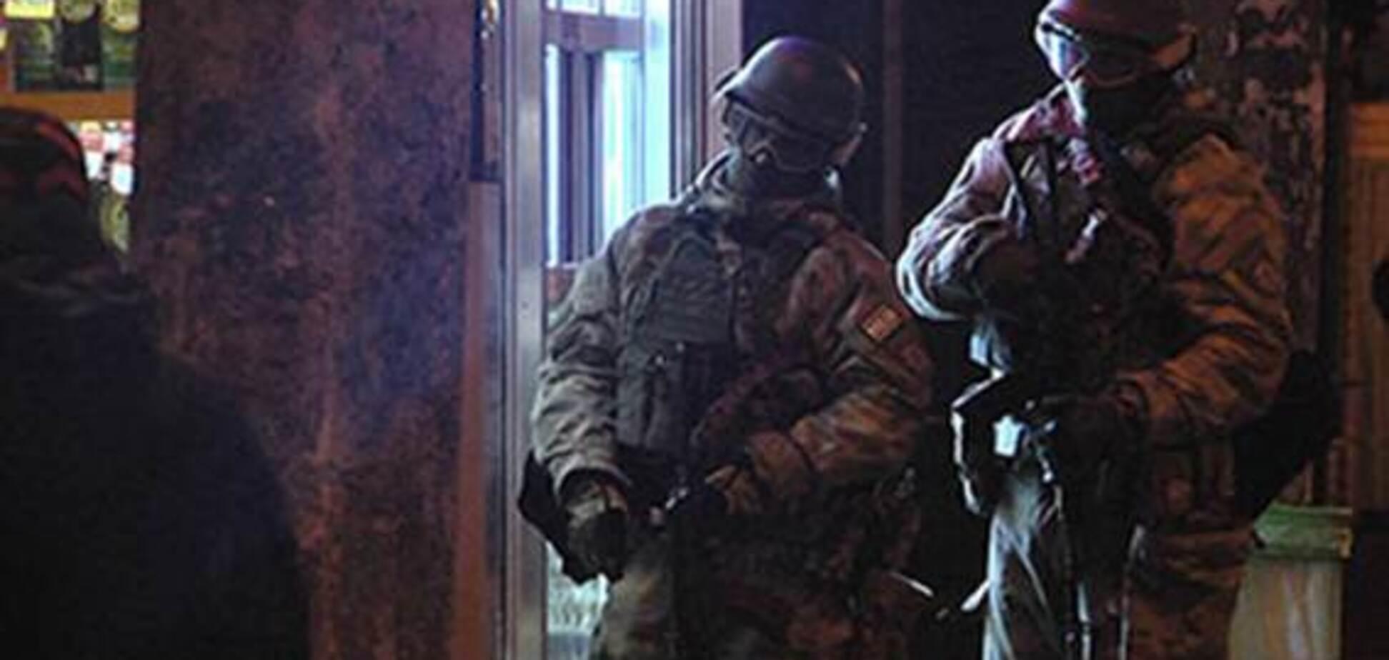 Освобождение заложников в Харькове