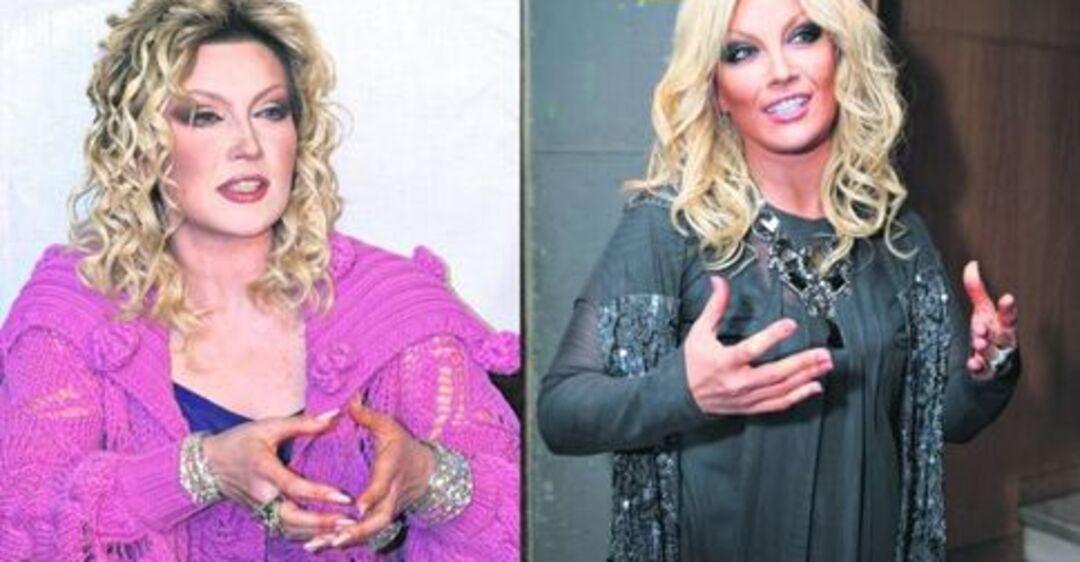 Таисия повалий до и после пластики фото