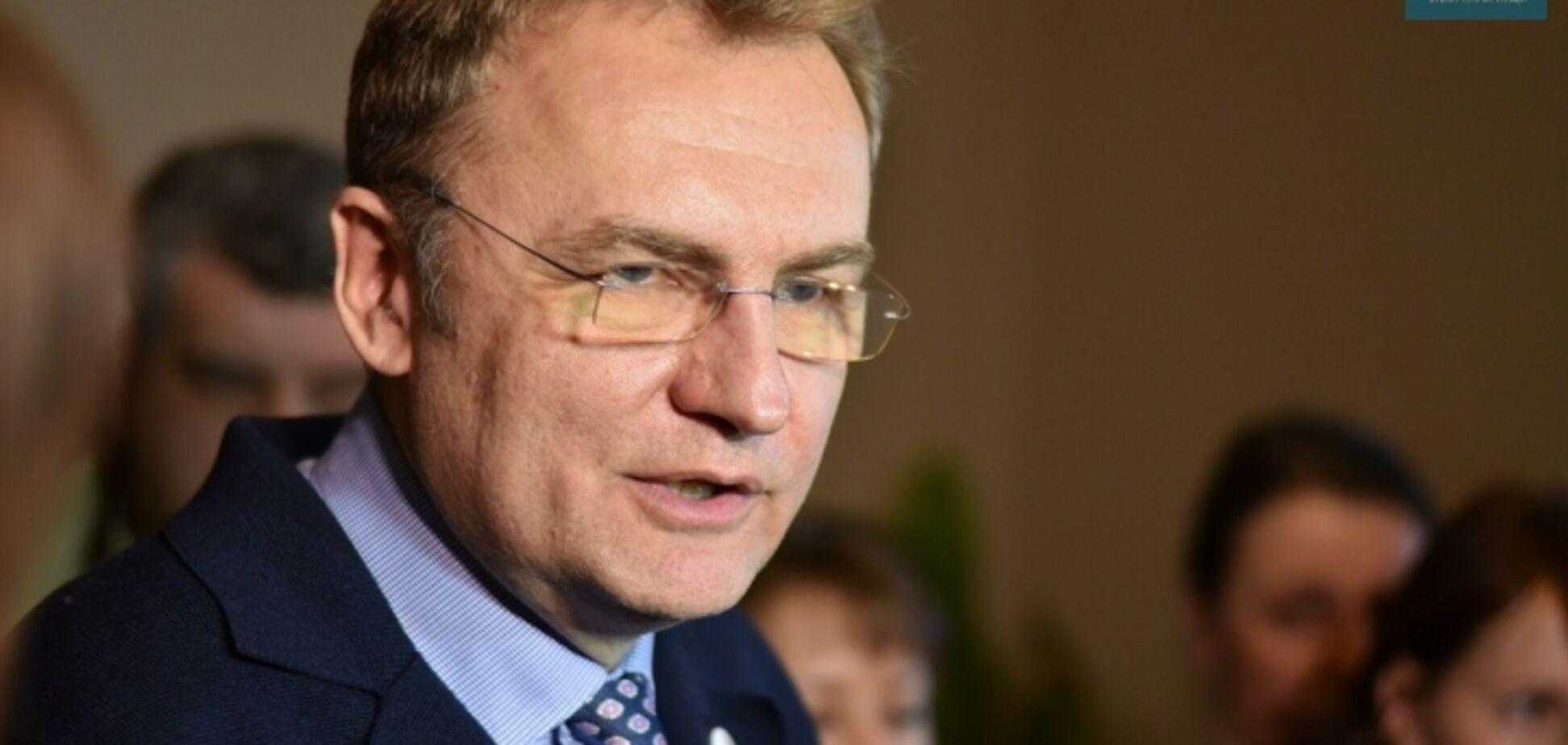 'Сепаратистский' скандал во Львове: Садового вызвали в СБУ