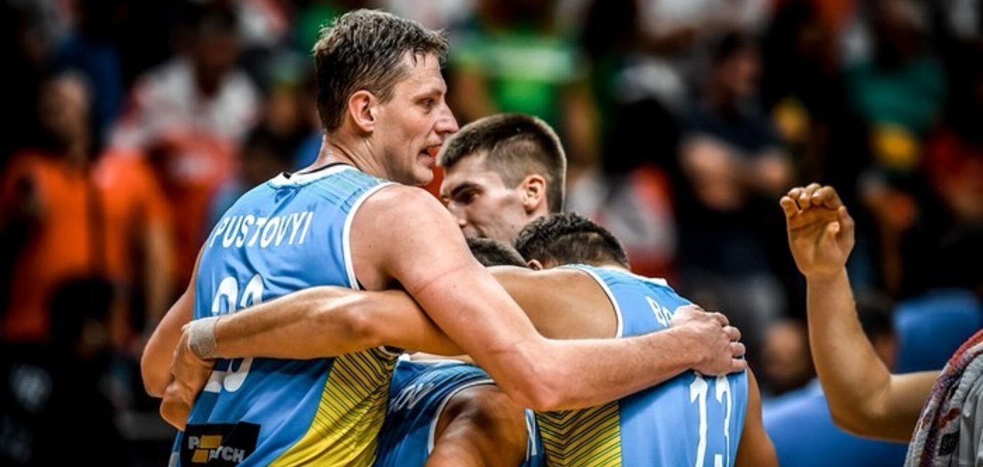 Збірна України зберегла місце в топ-20 світового рейтингу ФІБА