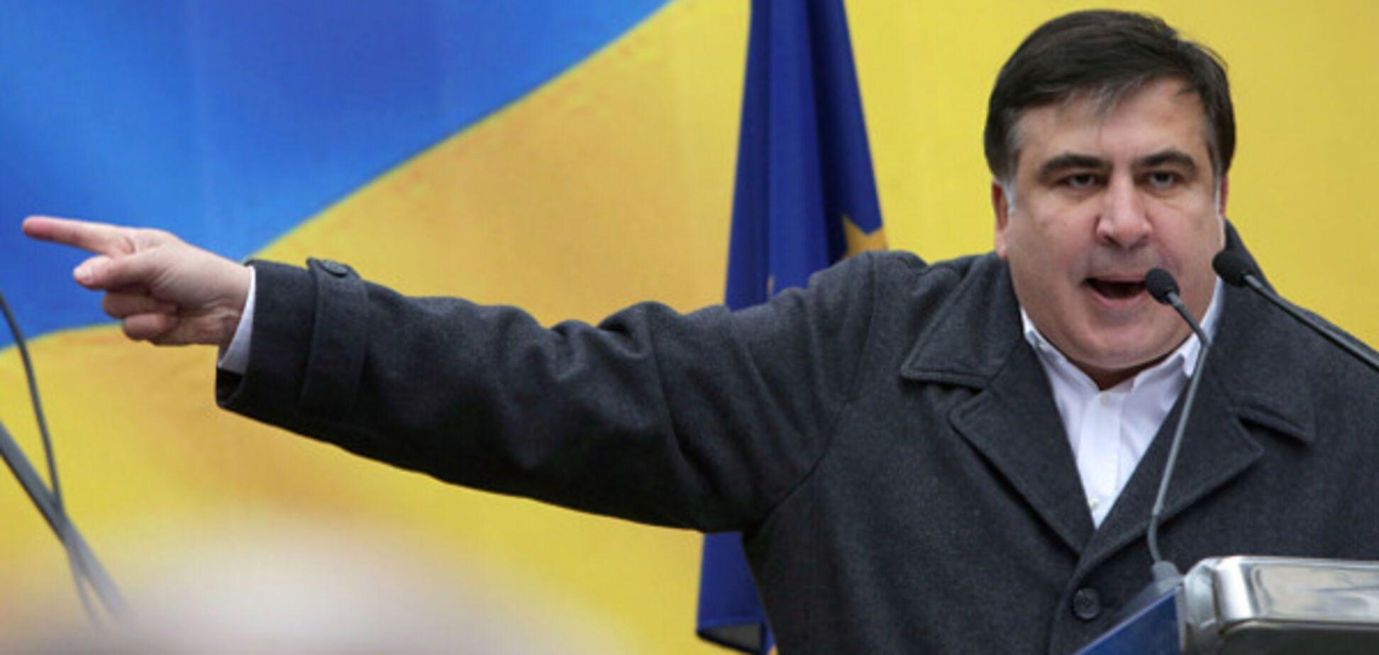 'Я не знаю, кто он': Саакашвили отжег новый перл про Курченко