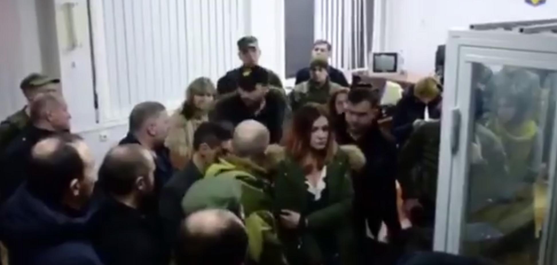 Напад Парасюка на поліціянта: з'явилися нові подробиці і відео