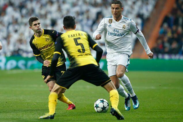 Криштиану Роналду установил исторический рекорд Лиги чемпионов