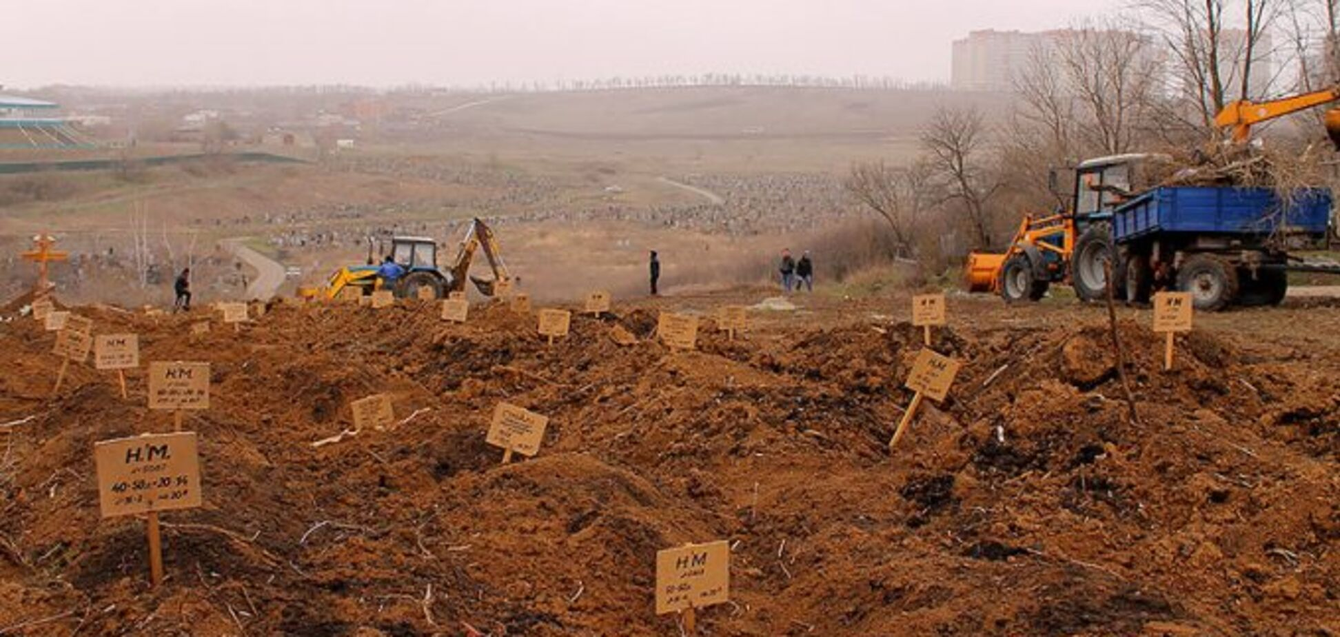 Російські окупанти зазнали масштабних втрат на Донбасі