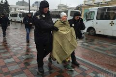 Гола акція на 'Міхомайдані': стали відомі подробиці про активістку Femen