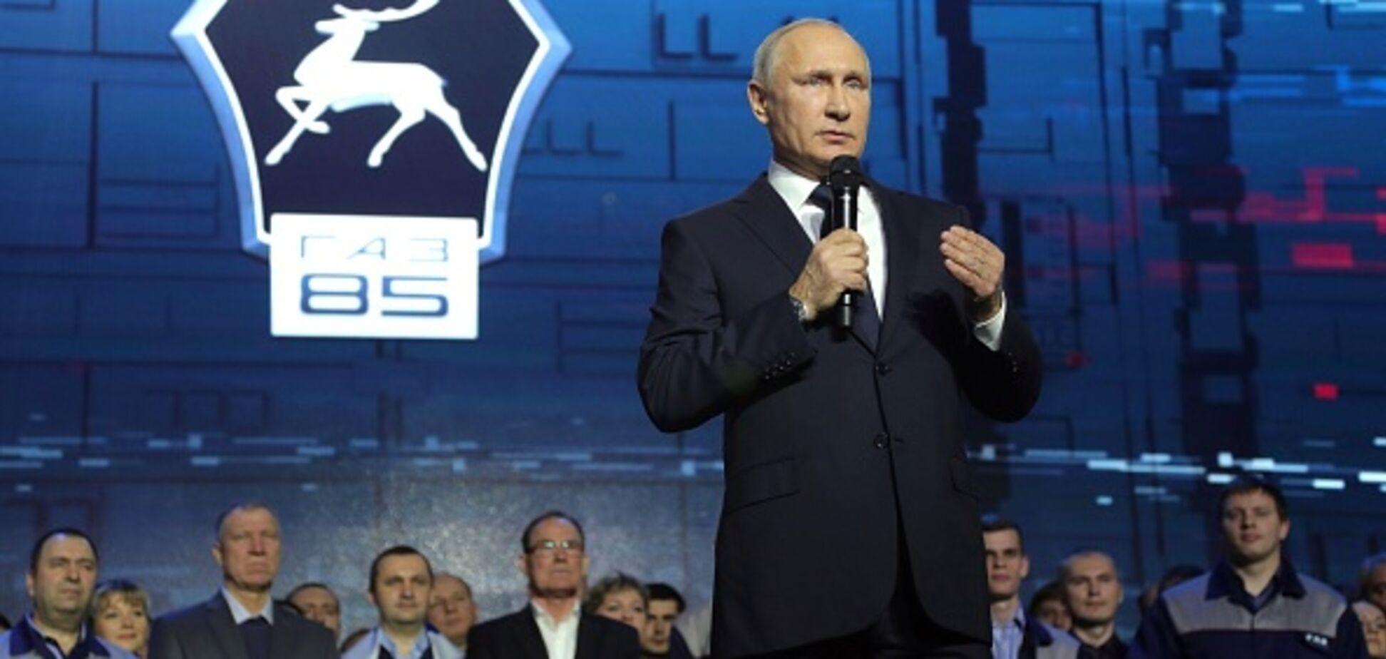 'Путин в гробу': известный карикатурист высмеял выдвижение президента России