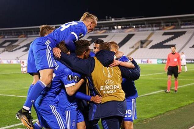 Динамо – Партизан: смотреть онлайн трансляцию матча Лиги Европы