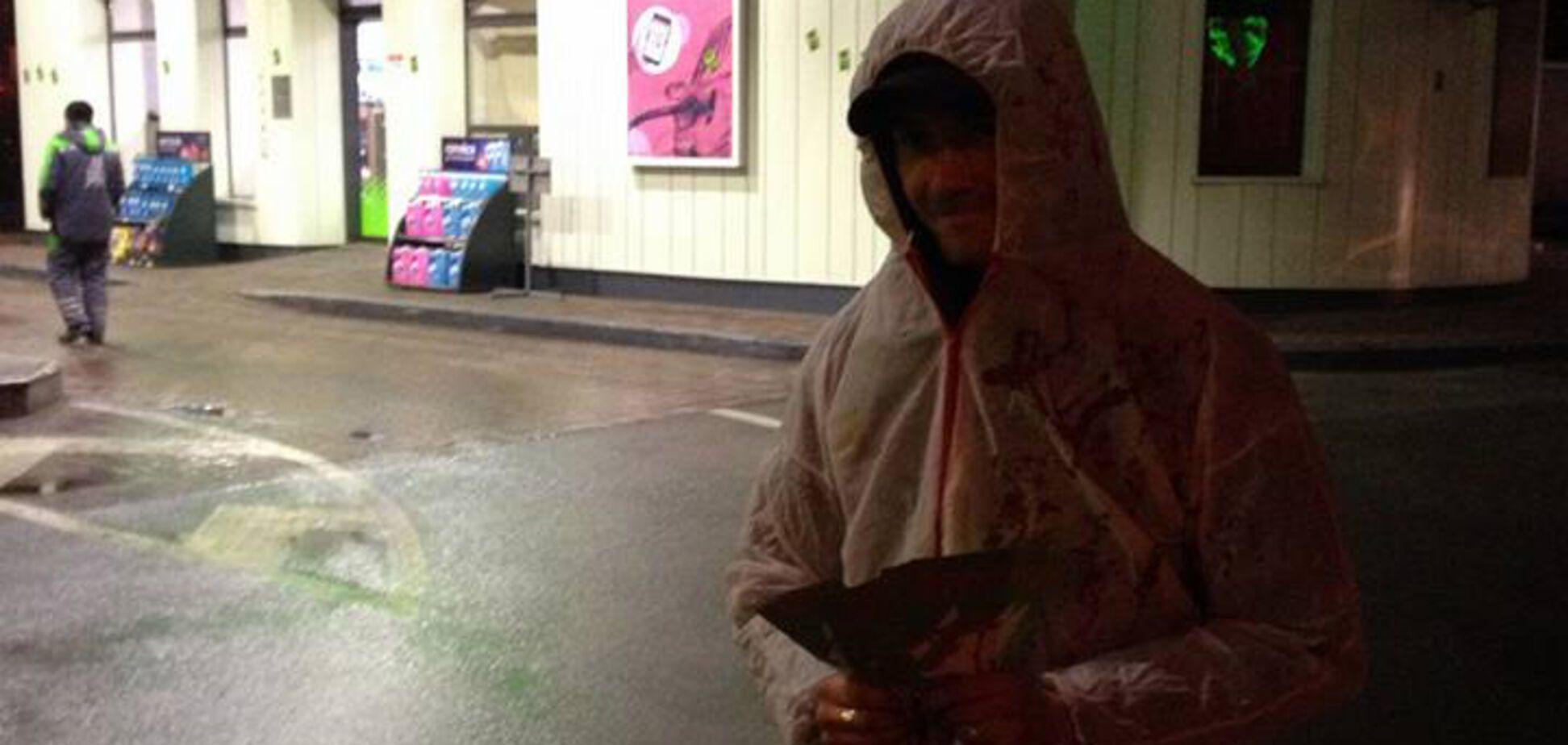 Поймали с поличным: блогер заснял расчет с пикетчиками против АЗС