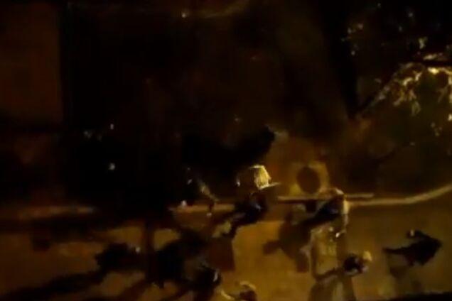 Российские ультрас напали на испанских фанов перед матчем Лиги Европы: опубликовано видео