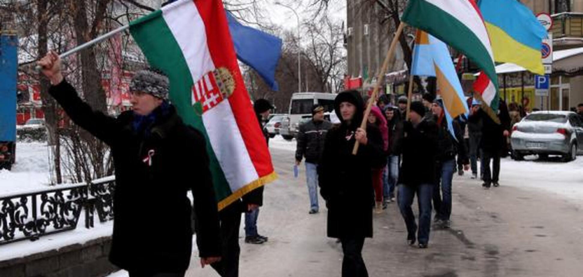 Украина и Венгрия