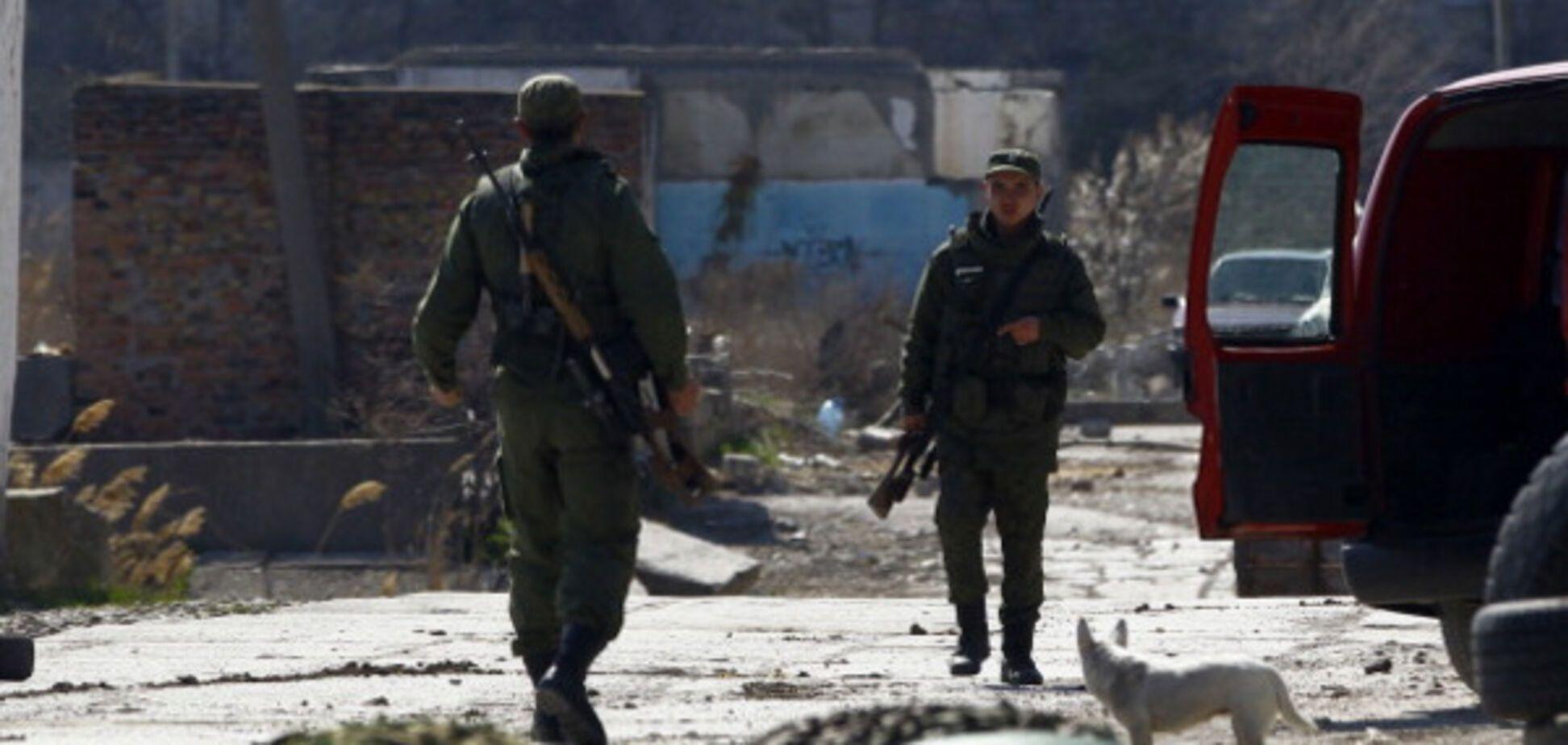 Солдаты РФ в Крыму