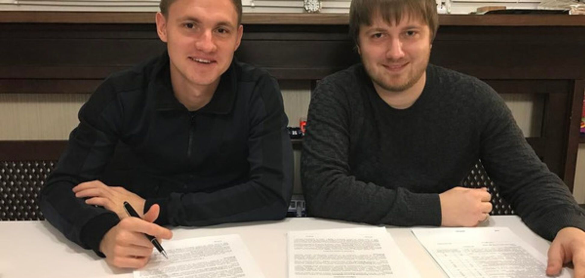 Владислав Калитвинцев та Вадим Шаблій