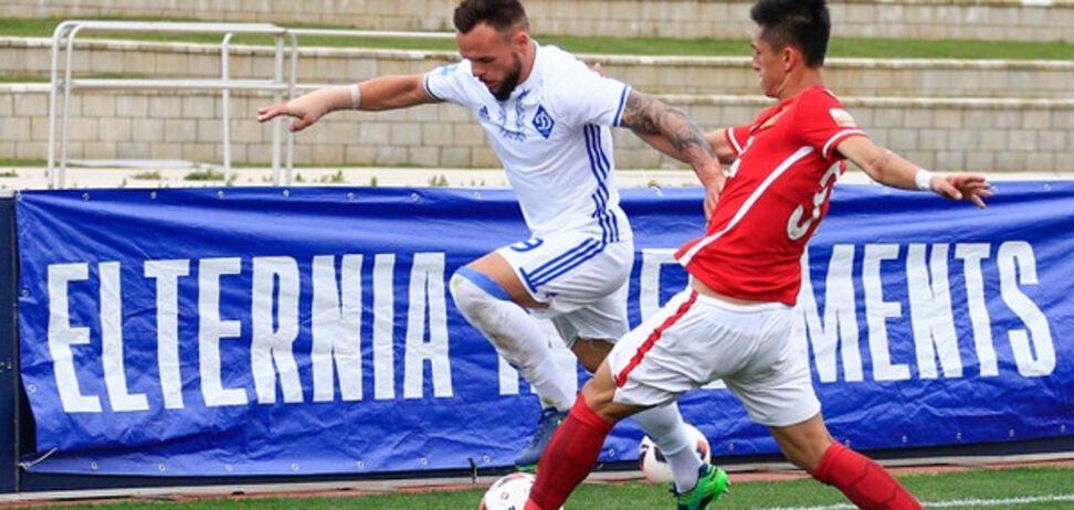 'Динамо' без Ярмоленко отгрузило пять голов китайцам в контрольном матче