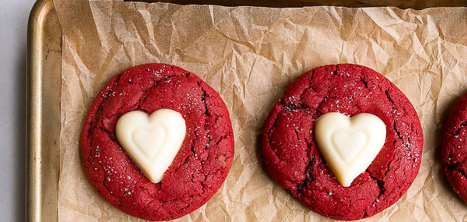 День св.Валентина: рецепт печенья 'красный бархат'