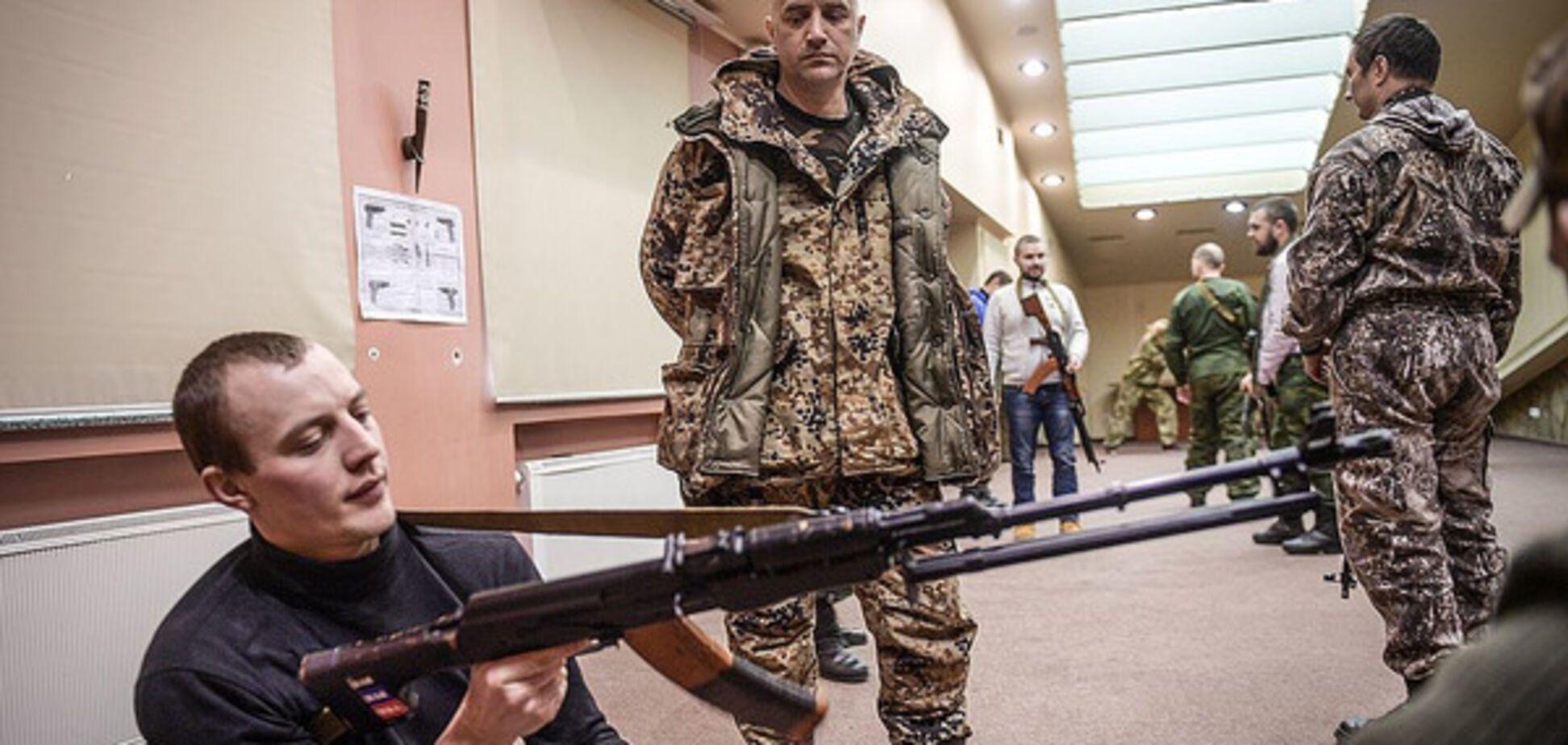 Захар Прилепин и террорист \'ДНР\'