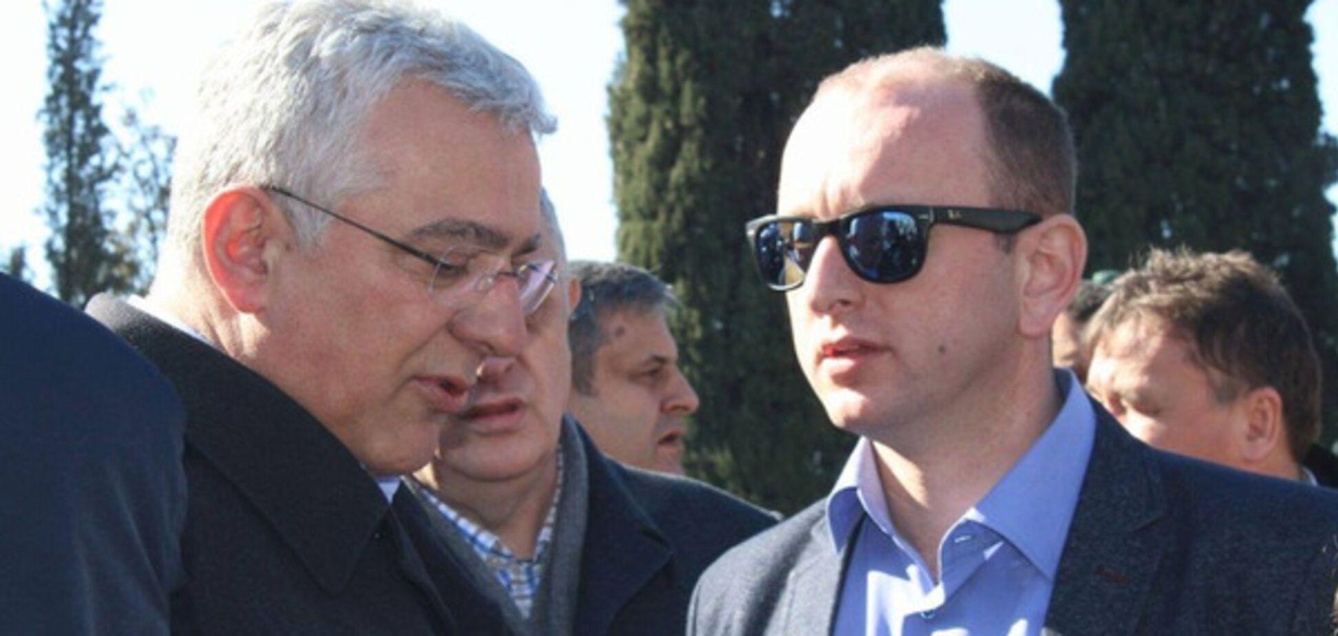 Андрий Мандич и Милан Кнезевич