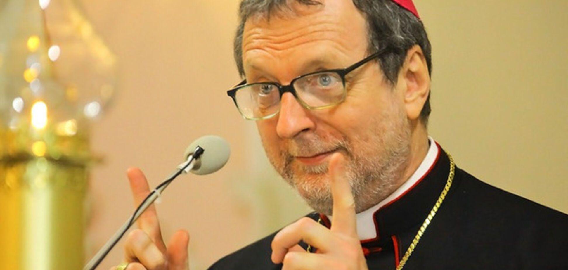 Архиепископ Клаудио Гуджеротти Нунций